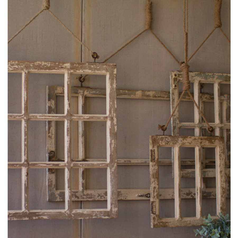 Hanging Window Frame, LG
