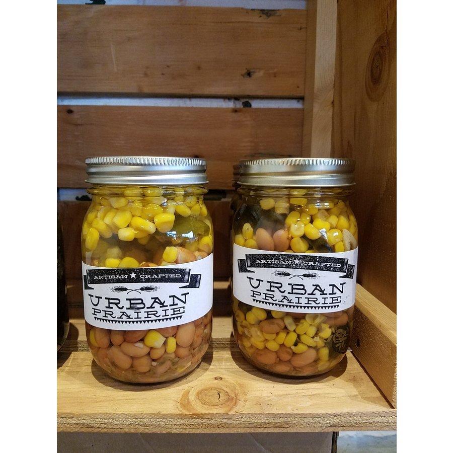 Urban Prairie Pickled Pintos and Corn
