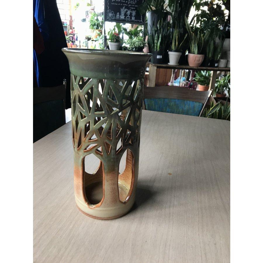 Round Tree Vase
