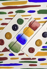 Vintage Watercolors Oxide Palette Dots