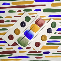 Oxide Palette Dots Vintage Watercolors
