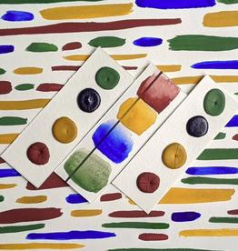 Vintage Watercolors Oxide Palette Dots