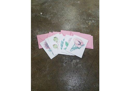Lavender & Clover Card Set