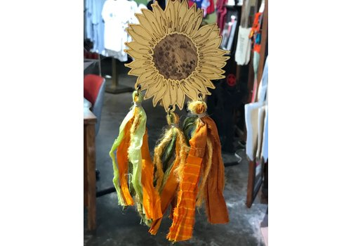 ICTMakers Sunflower Ornament with Tassels