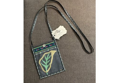 Lamzy Divey Textile Hip Purse