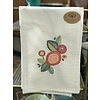 Upcycled, Embroidered Tea Towels