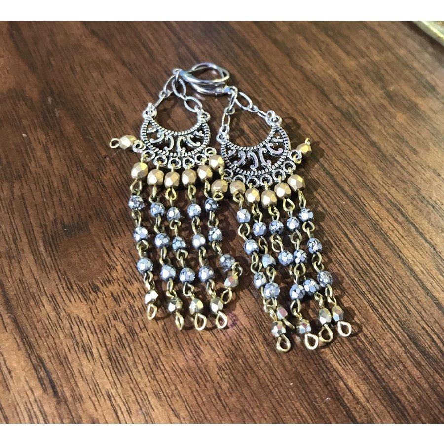 Lamzy Divey Chandelier Earrings