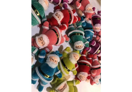 Onehundred80degrees Retro Dancing Santa Ornament S/6