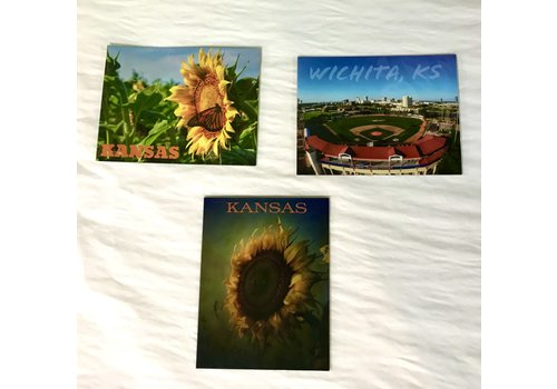 """Drone-tography Print Magnets 4.5x5.5"""""""