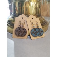 Leather Hogan Earrings