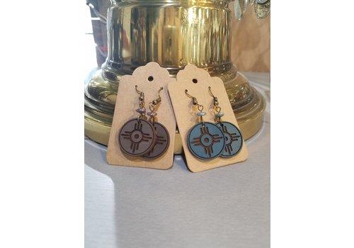 ICTMakers Leather Hogan Earrings