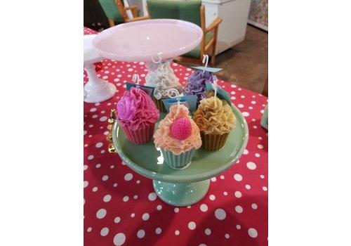Keen Skein Large Cupcake Candle