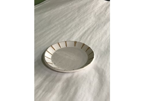 High Noon Pottery Trinket Dish Matte White