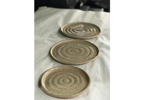 High Noon Pottery Small Vanilla Plate