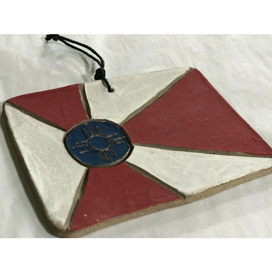 ICT Flag Ceramic Ornament
