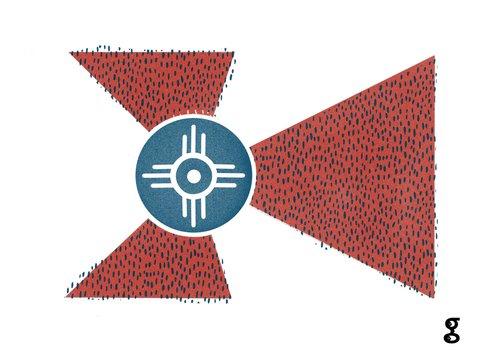 Geli Chavez Geli Chavez Flag Prints