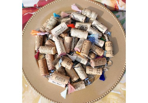 Off the Chain Assorted Wine Cork Keychains