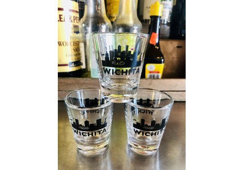 ICTMakers Wichita Skyline Shot Glass