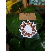 Theresa Wolff Sticker Pack Lepidoptera Circle