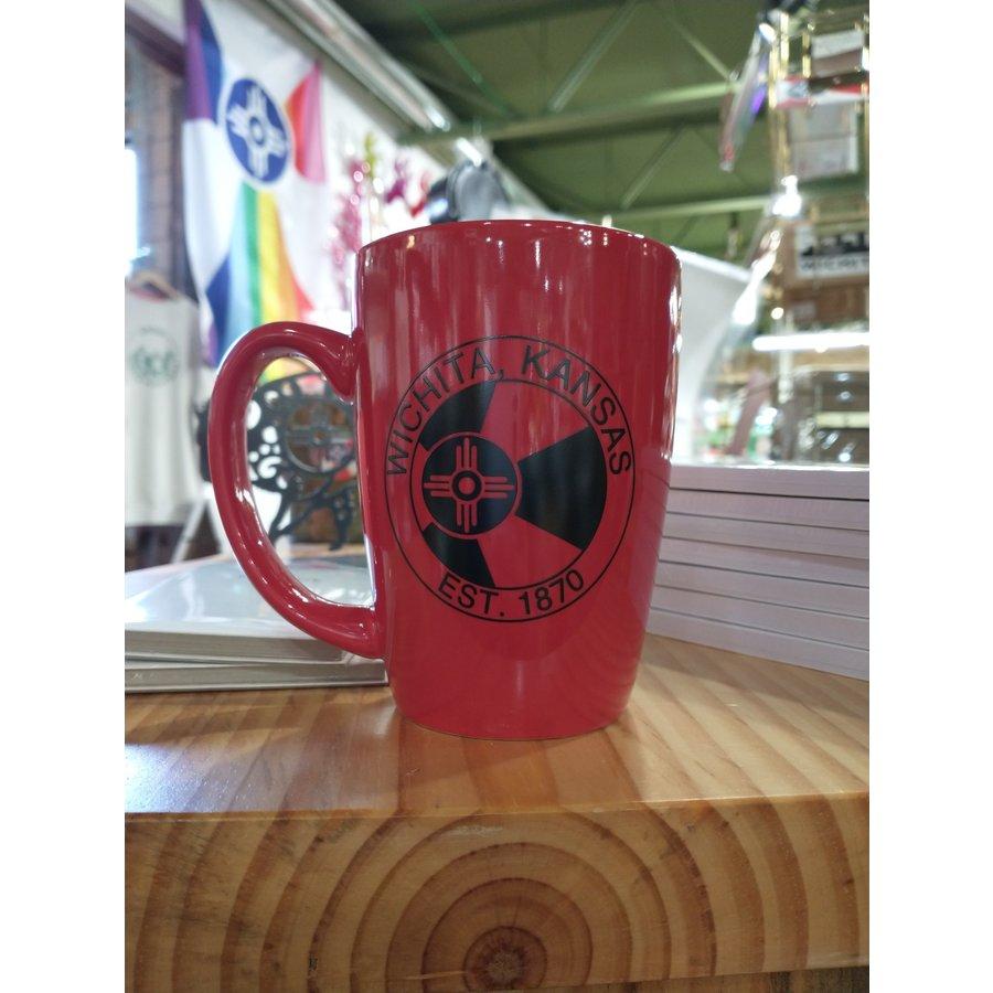 ICTMakers Red Wichita Mug