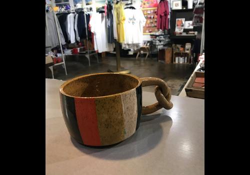 High Noon Pottery Colorblock Mug Large