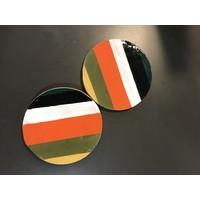Colorblock Coasters