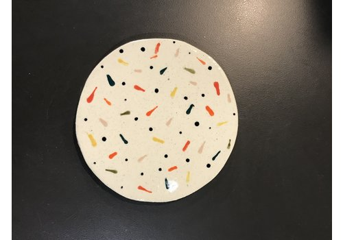 High Noon Pottery Confetti Coaster
