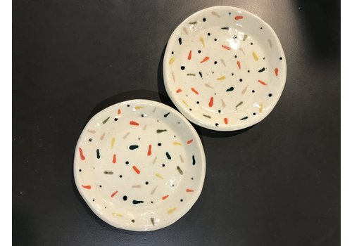 High Noon Pottery Round Confetti Dish