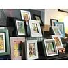 Vicki Mcilroy Mini Paintings