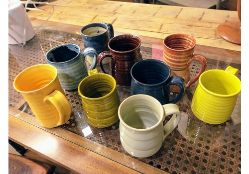 IS Art Glazed Mugs