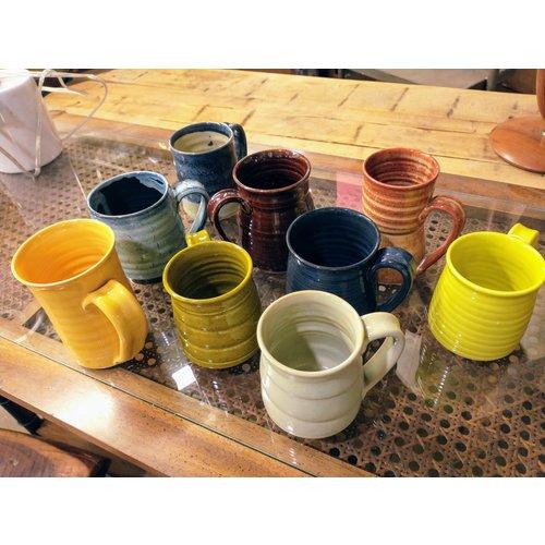 IS Art Glazed Mugs