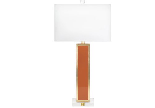 The Workroom Blair Table Lamp- Orange