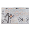 The Workroom Hand-Woven Blend Tufted Rug w/ Abstract Design, Multi Color