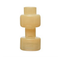Milky Yellow, Glass Vase