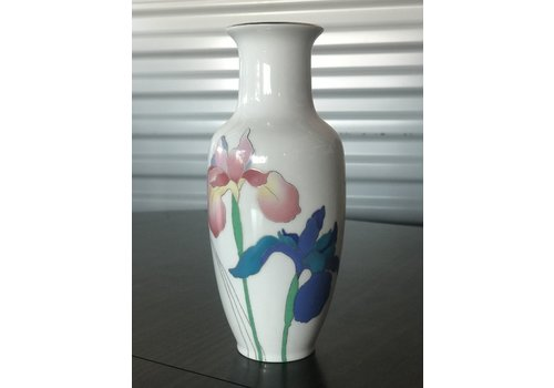 The Workroom White Iris Vase