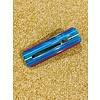 The Workroom Fashion Teal Striped Hair Clip