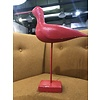 The Workroom Vintage, Red Bird on Stand