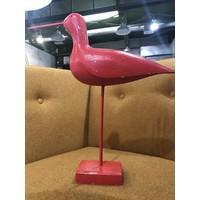 Vintage, Red Bird on Stand