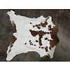 The Workroom Brown and White Calfskin Rug