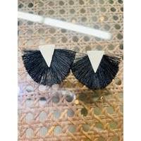 Fashion Find Triangle Fringe Earrings