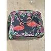 Flamingo Vintage Zipper Carry On