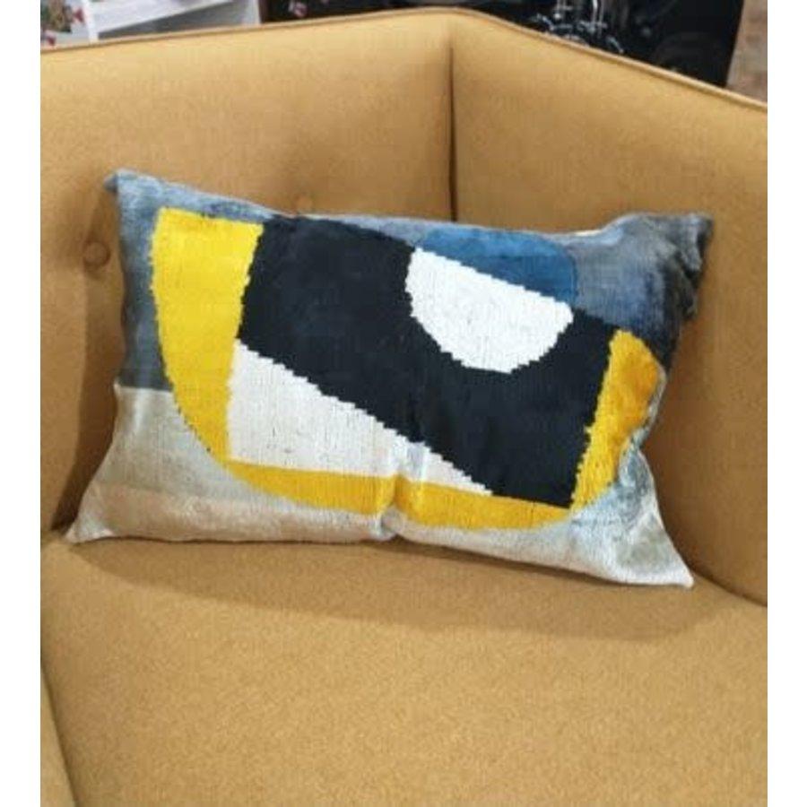 """Velvet and Silk Pillows 16""""x20"""""""