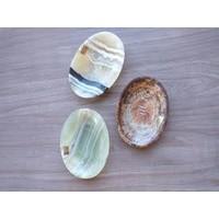 Onyx Stone Soap Dish , Oval