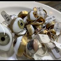 Extra Large Eyeball Ring