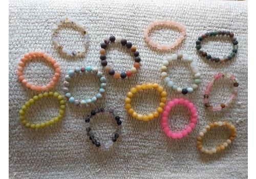 The Workroom Assorted Bead Bracelet