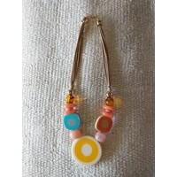 Circle Bead Necklace