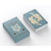 Designworks INK Teal Fortune Favors the Brave Playing Cards