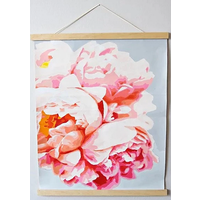 Pink Picasso Vertical Paint Hanger