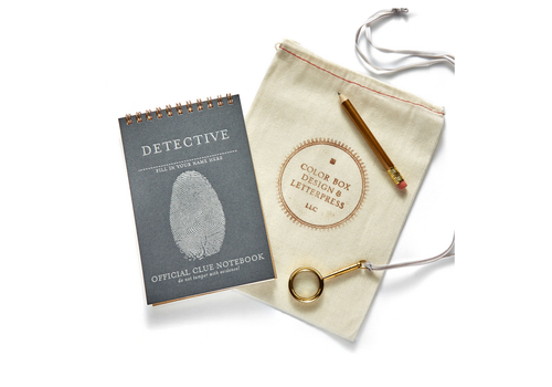 color box design Detective Creative Kit
