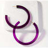 Ink + Alloy Lucite Small Hoop Earring